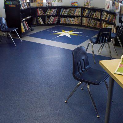 recycled vinyle flooring